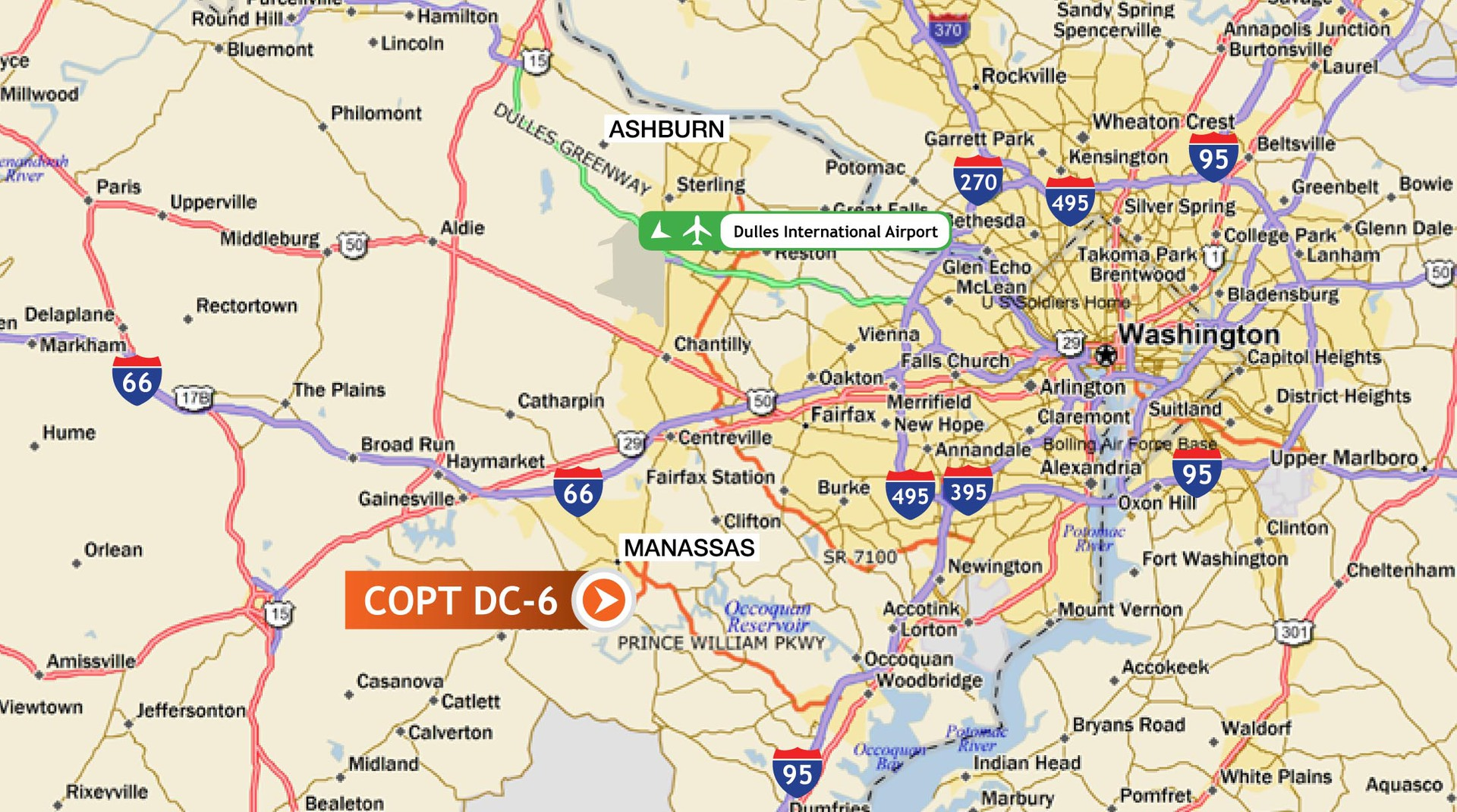 Servers in the USA, Date Centre of COPT DC - 6-EvoSwitch/LeaseWeb ...