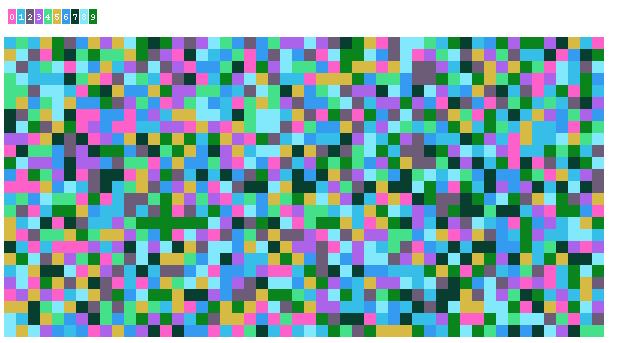 Число Пи Detail: Число Пи в пикселах / Geektimes