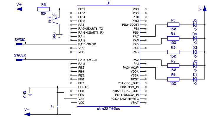 Эмиттер фототранзистора