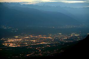 Ночной Инсбрук