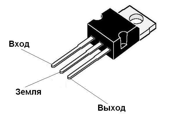 стабилизатор на lm317t - Схемы.