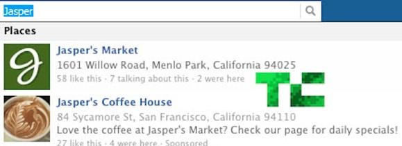 Facebook предложил рекламные объявления в результатах поиска