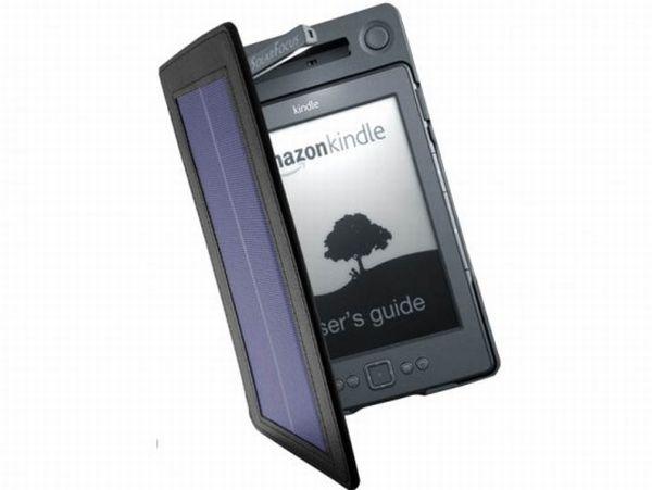 Kindle на солнечных батареях от SolarFocus