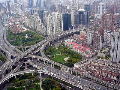 The Puxi Viaduct by wikimedia