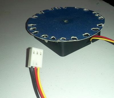 DIY цифровой тахометр на AVR