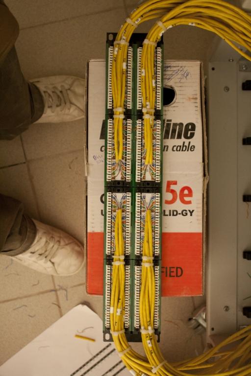 патч-панели под сеть: