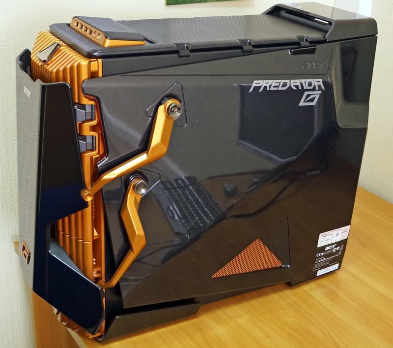 Обзор большого компьютера acer predator
