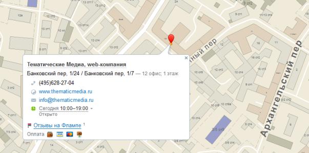Обновления API 2ГИС: статические карты, переработанные маркер и балун, улуч ...