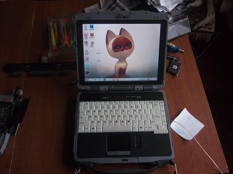 Модернизация защищённого ноутбука General Dynamics (Itronix) XR-1 (IX270)