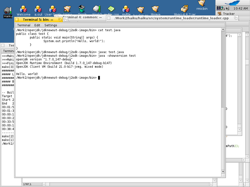 OpenJDK на Haiku OS