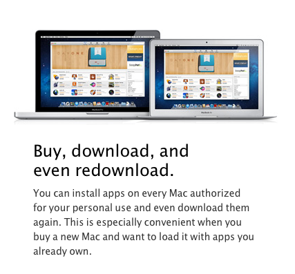 Для app mac store приложения
