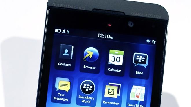 Анонимный покупатель приобрел сразу 1 миллион BlackBerry Z10