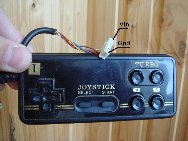 Подключаем джойстики от Dendy к PC через Arduino