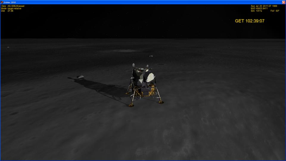 Посадка аполлона 11
