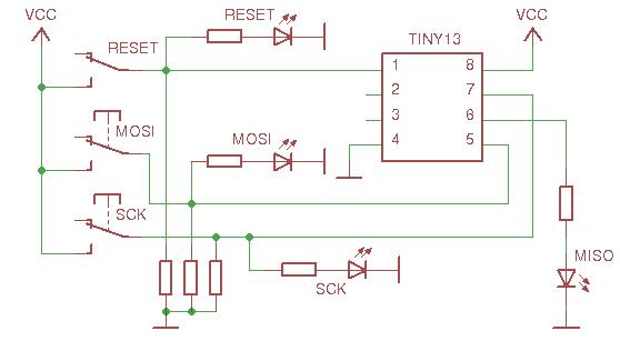 Прошиваем AVR вручную