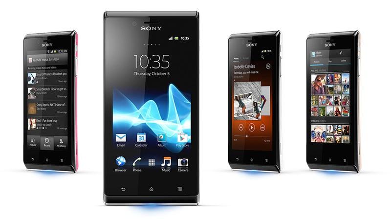Sony Xperia J выходит в продажу
