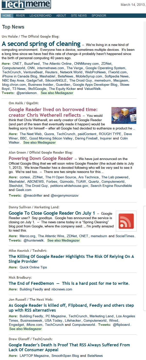 Почему Google думает, что пользователям понравится Google Currents вместо Google Reader?