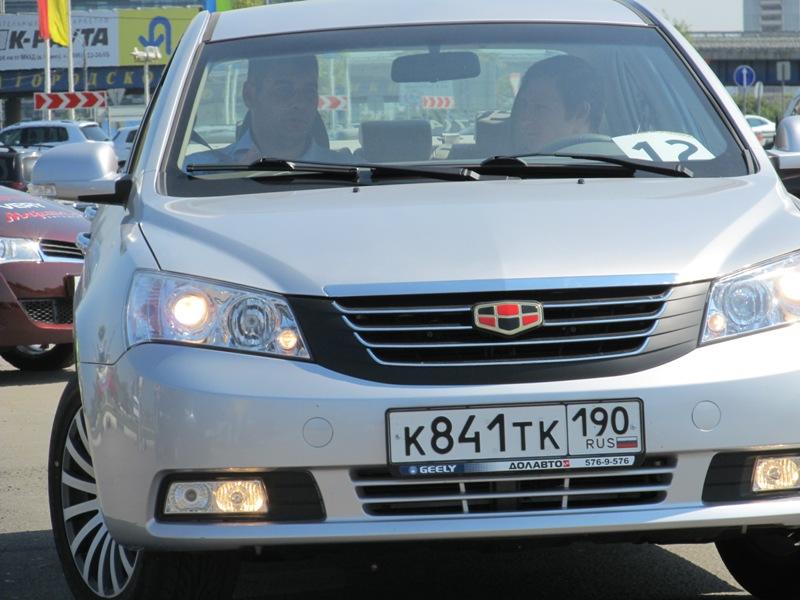 значки китайских машин