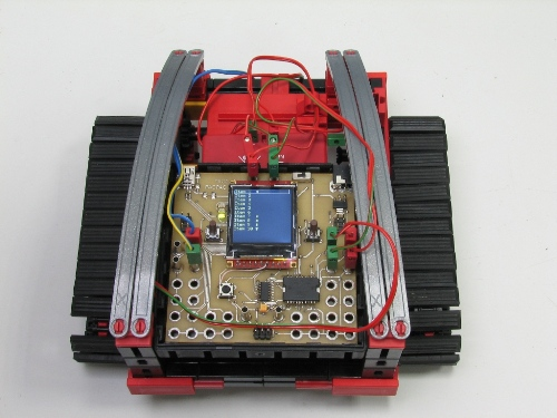 Робот с контроллером