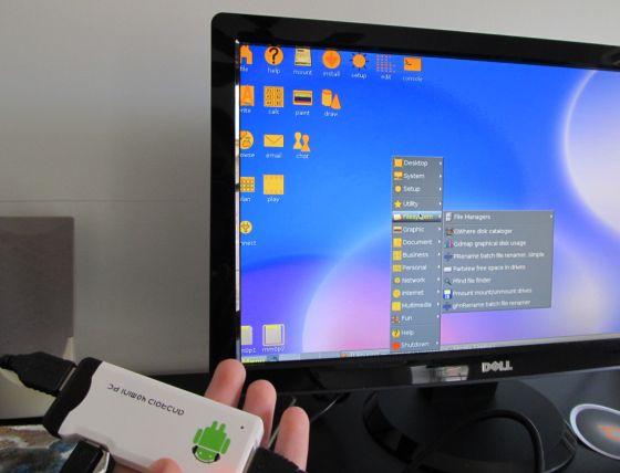 На мини-компьютере МК802 проверили работу Ubuntu и Puppy Linux