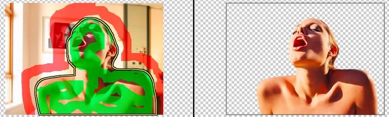 обрезать онлайн фото по контуру