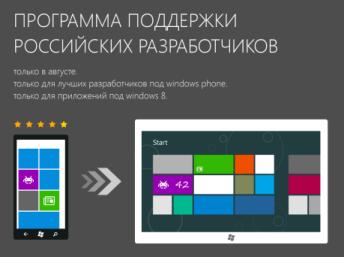 Программа поддержки российских разработчиков