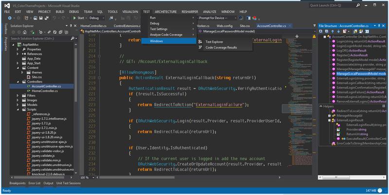 что шли с Visual Studio