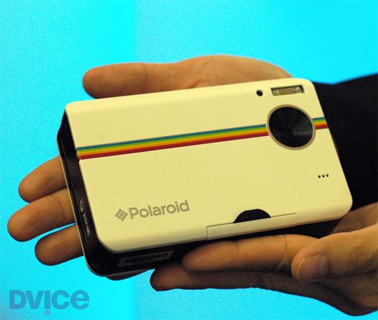 Polaroid выпустил «мгновенную» камеру нового типа