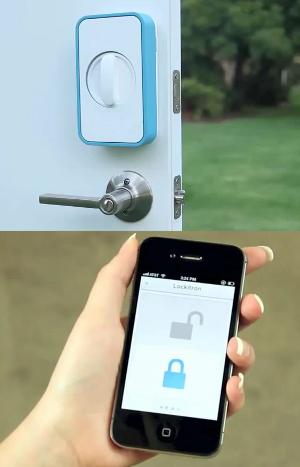 Замки открываемые nfs и смартфона видео