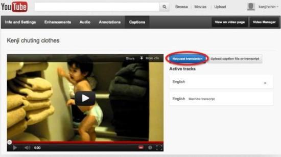 Данная возможность появилась в результате интеграции инструментария Google Translator Toolkit в YouTube...