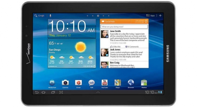 Samsung Galaxy Tab 7.7 with LTE Support (Verizon)