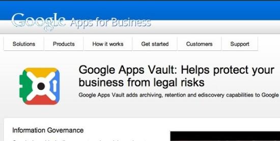 App Vault от Google — сервис мониторинга и архивации сообщений для пользователей App for Business