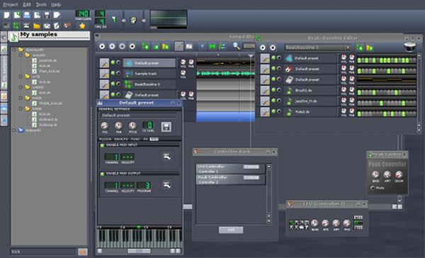 Скриншот LMMS