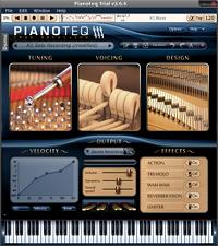 Скриншот Pianoteq