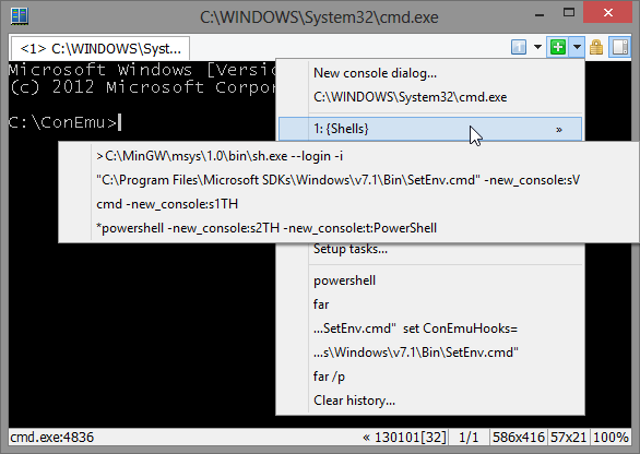 Альтернативный терминал для Windows / Хабр