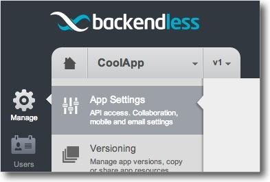 Backendless ios sdk