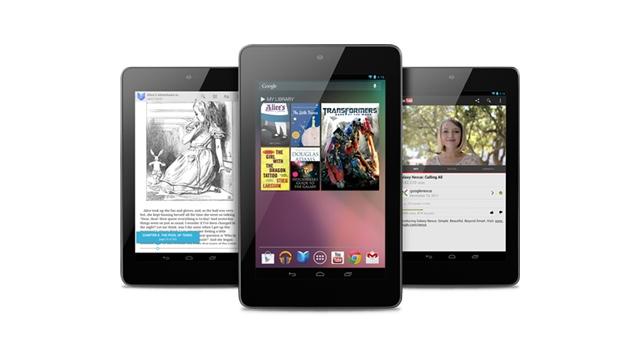 Планшет Google Nexus 7 официально представлен (upd)