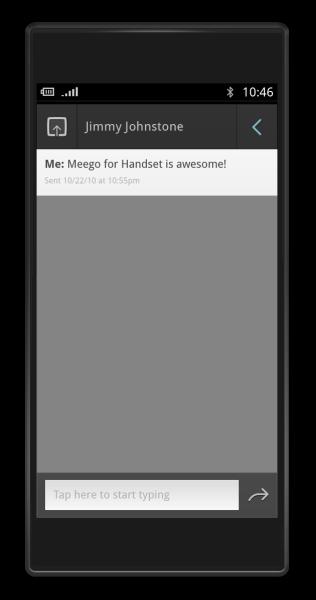 Смс(sms) в MeeGo