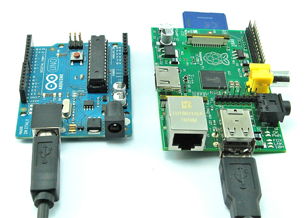Соединение Raspberry Pi и Arduino