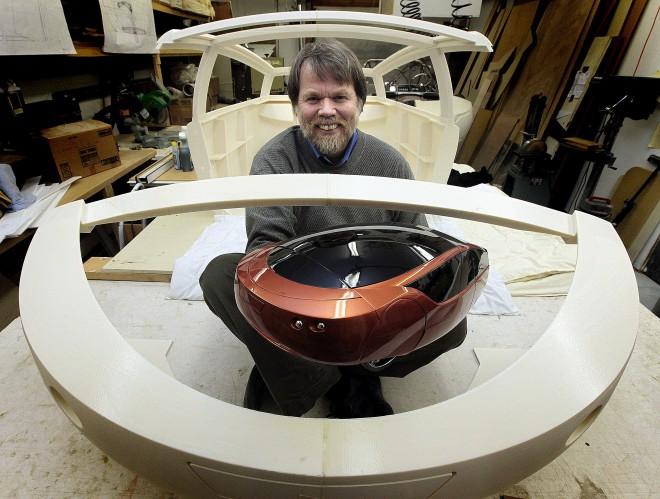 Urbee 2: реальный автомобиль, отпечатанный на 3D принтере
