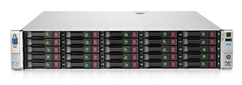 HP StoreEasy – легкое хранение неструктурированных данных