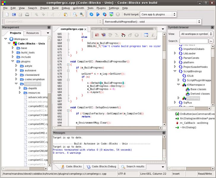 Лучшая программа для программирования c