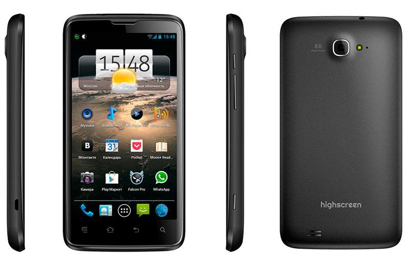 Хабраобзор Highscreen Explosion или недорогого аналога Samsung Galaxy 3