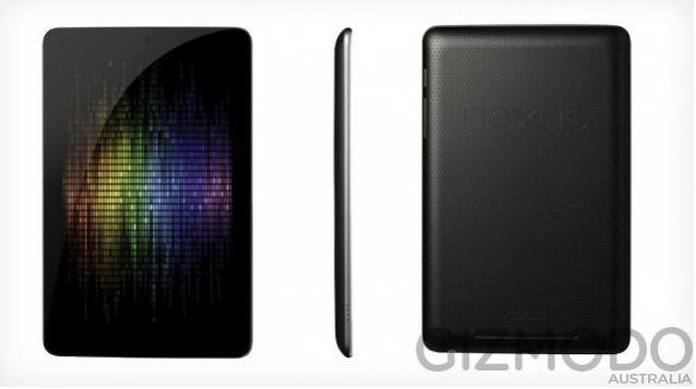 Стали известны технические характеристики планшета Google Nexus
