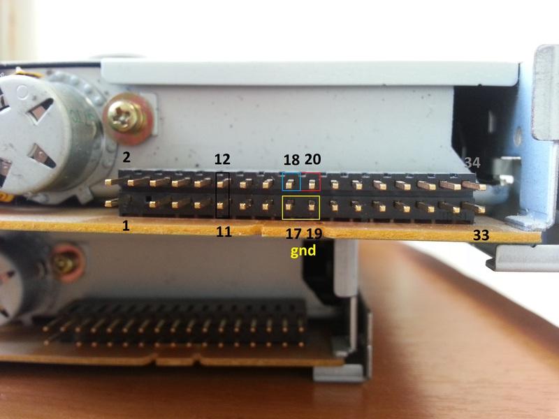 Флоппи дисководы схема