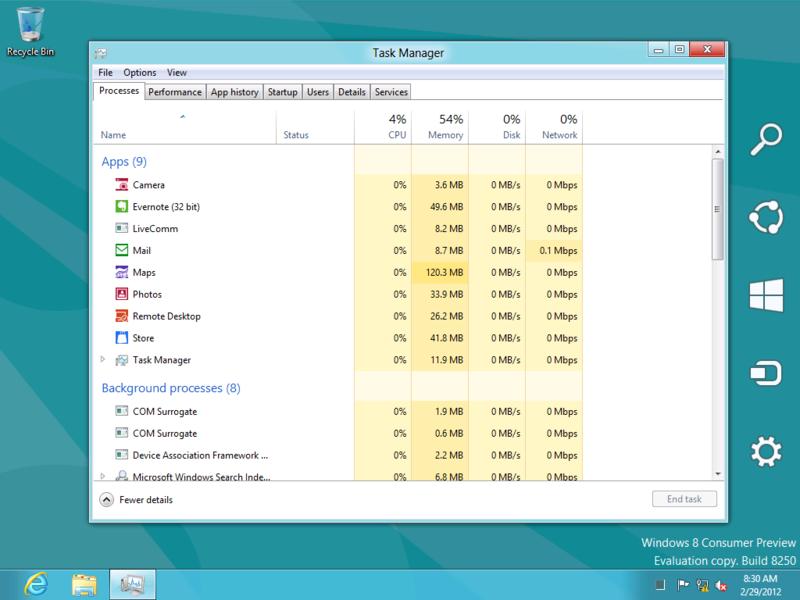 сравнить с Windows 7.