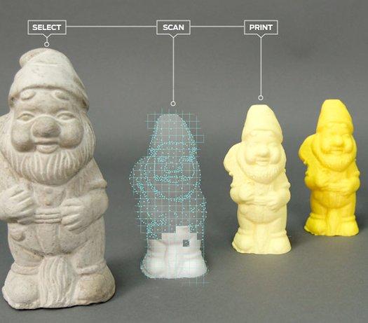 Компания MakerBot представила настольный 3D сканер