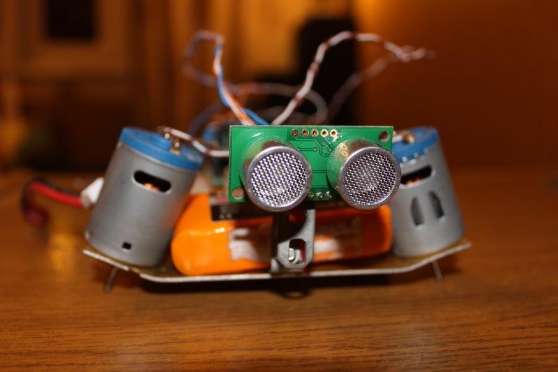 Простейший робот-черепашка на arduino