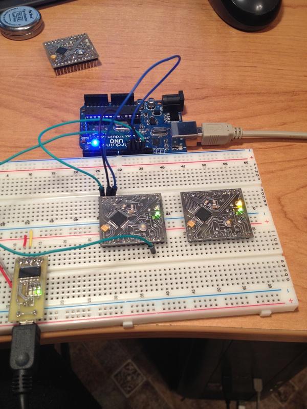 Programming the LPC1114 - Handheld Arduino color