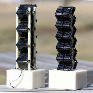 Специалисты MIT предлагают сложить солнечную батарею гармошкой